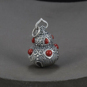 A22 Pendant Middle Eastern With Circular And Teardrop-Shaped Achaten Fine Silver
