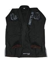 NEW Battle Gear Black Brazilian Jiu Jitsu Kimono Gi A1 BJJ