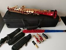 More details for just reduced ! soprano saxophone with rare tipped bell bell,mint condition,