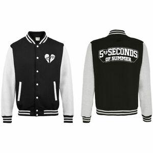 5sos 5 seconds of summer Official varsity jacket SMALL