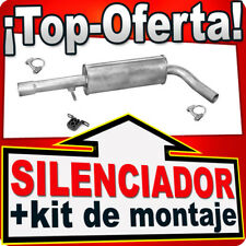 Silenciador Intermedio AUDI SEAT SKODA VW 1.6FSI 1.8 2.0 96-07 Centro Escape PPC