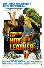 Chrome And Hot Leather Movie Poster Large 24inx36in