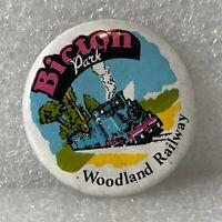 Bicton Park Woodland Railway Pin Badge Devon narrow gauge Railway