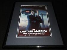 Captain America Winter Soldier Framed 11x14 Poster Display Robert Redford