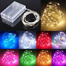 Waterproof 20/30/40/50/100 LEDs String Copper Wire Fairy Lights Battery Powered