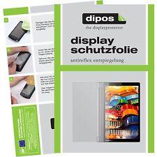 2x Lenovo Yoga Tablet 3 (10 Zoll) Schutzfolie Display Folie matt dipos