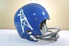 George Blanda Kra Lite 1961 Houston Oilers signed Vtg Riddell RK Football Helmet