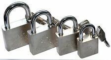 Padlock Waterproof Outdoor 3 keys gate shed garage bike Lock Heavy Duty Shackle