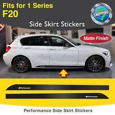 Für BMW F20 1er M Performance Seite Schweller Türleiste Aufkleber Grafik MATT