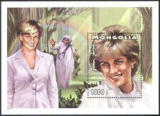 Mongolia 1997 Diana, Princess of Wales/Royal/Royalty/People 1v m/s (b1618)