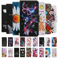 For Samsung Galaxy A01 A51 A71 Case Painted Flip Wallet Card Holder Phone Cover