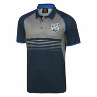 Canterbury Bankstown Bulldogs NRL Sublimated Polo Shirt Size S-5XL! W18