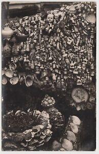VICTORIA - Curiosity Shop, Ballarat, monochrome vintage postcard, c.1930s.
