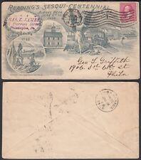 United States 1898 - Illustrated cover to Philadelphia......(6G-20355) MV-1586