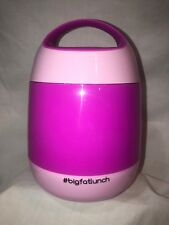 Vacuum Insulated Hot/Cold LUNCHBOX/food thermos for Kids/Adults 1.2L/40.5oz PINK