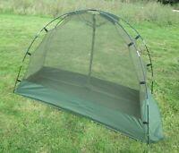 NEW Genuine British Army Cot Mounted Mosquito Net Camping Bushcraft