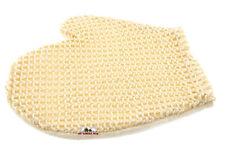 2 x Massage Handschuh 2 Seiten Fein-Grob Duschhandschuh Peeling Peelinghandschuh