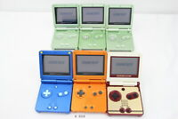Fully Tested! Rare Lot 6 Nintendo GameBoy Advance SP System Console LTD #3516