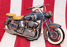 RARE HARLEY DAVIDSON bike motorcycle tin toy tinplate car handmade