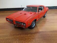 1:24 Danbury Mint Pontiac GTO Judge 1969 Orange  NO BOX