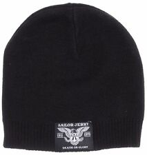 Sailor Jerry Eagle Knit Patriotic Tattoo Death Or Glory America Beanie Hat Cap