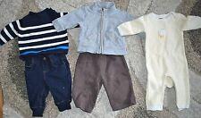 *Lot of 5pc* Boys 3-6M BabyGap Winter Sweater Romper Jeans Pants Sweatshirt Zip