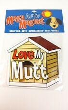 Mega Auto Magnet New Car Magnet Love My Mutt. #33