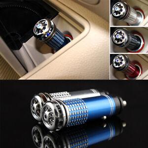 1× Car Fresh Air Ionic Purifier Oxygen Bar Ozone Ionizer Cleaner Accessories Kit