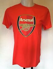 ARSENAL RED FAN CREST TEE SHIRT BY PUMA ADULTS SIZE SMALL BRAND NEW