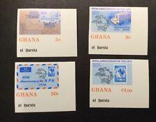 Ghana #512-#515, Mint, NH, OG, Imperf