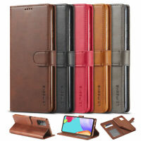 For Samsung Galaxy A72 A52 5G A42 A32 A12 PU Leather Magnetic Wallet Case Cover