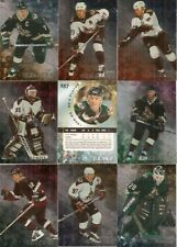 1998-99 ITG Be A Player Regular Silver Phoenix Coyotes Complete Team Set (10)