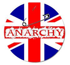 ANARCHY Punk Button Pin NEU 2,5cm Punkrock Oi! Skinhead Anarchie Punx Rebell