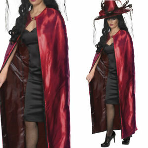 Red Witch Cape Halloween Accessory