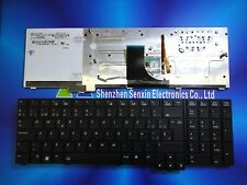 New SP Spanish version Keyboard for HP EliteBook 8740 8740W 8740P Backlit black