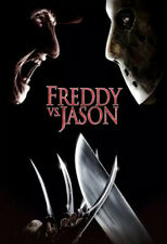 freddy vs jason Movie Poster 12x18inch Art Silk Poster ~