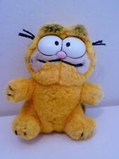 """Vintage Classic Garfield Mini Plush Soft Toy Cat Doll 1980s 6"""" Tall"""
