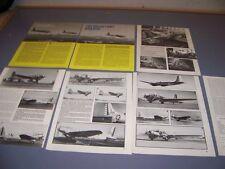 VINTAGE..DOUGLAS B-23 DRAGON..HISTORY/VARIANTS/COCKPIT/SPECS...RARE! (977J)