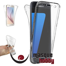 Funda Carcasa Gel TPU Antichoque 360º Transparente Samsung Galaxy S7 Edge G935