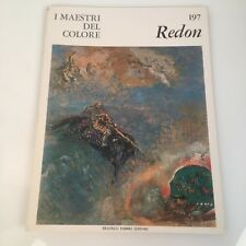 I maestri del colore Redon (n.197) Fabbri Editori 1966 prima edizione