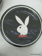 PLAYBOY Party FAVOR Birthday Plates Cake Decoration Dessert Rabbit Adult Black *
