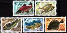 RUSSIA/USSR 1983 FAUNA: Fishes, MNH