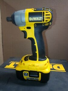 """DeWalt 18V LiOn 1/2"""" Drive Impact Wrench Kit with Battery, Charger and Case"""