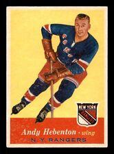 ANDY HEBENTON 57-58 TOPPS 1957-58 NO 58 EX+ 15513
