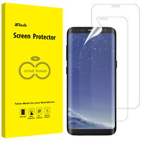 JETech Screen Protector for Samsung Galaxy S8 Plus TPU HD Film 2-Pack