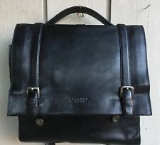 Kenneth Cole leather purse satchel Vintage Black Good Looking
