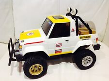 Vintage Tamiya MITSUBISHI  PAJERO 1980's Wheelie Jeep **excellent Condition**