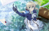 Anime  Violet Evergarden Wallpaper Poster 24 x 14 inches