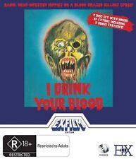I Drink Your Blood Blu-ray - 2 discs -  Region B - New - Gryphon Australia R18+