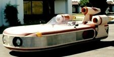 XP-34 Star Wars Landspeeder Handcrafted Mahogany Kiln Dry Wood Model Large New